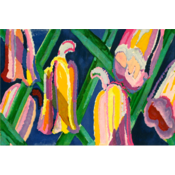 The Picturalist Framed Print on Rag Paper: Campanules by Edward Benedictus