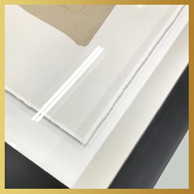 Framed Print on Rag Paper: Rainbow by D. Anton