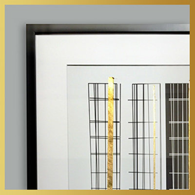 The Picturalist Framed Print on Rag Paper: Golden Stairs by Alejandro Franseschini