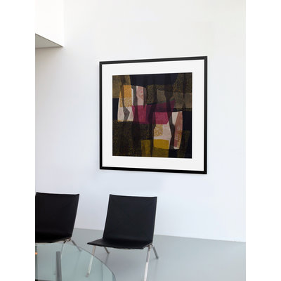 Framed Print on Rag Paper: Crisalida 30 by Lidia Beiza