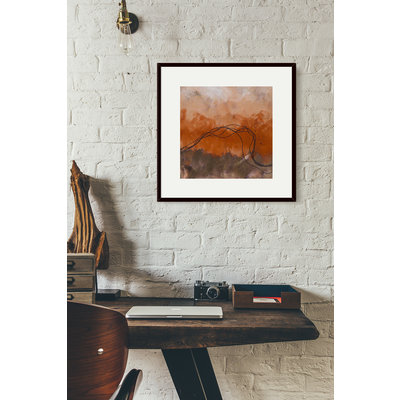 The Picturalist Framed Print on Rag Paper: Cuerdas Naranja by Lidia Beiza