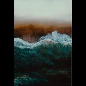 The Picturalist Framed Facemount Metal: Mindful Wave UV Print on Metal