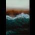 Framed Facemount Metal Mindful Wave UV Print on Metal