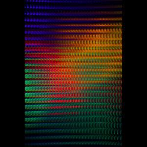 Framed Facemount Acrylic Polychromatic