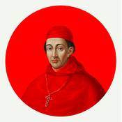The Picturalist Framed Print on Rag Paper: Cardinal in Vermillion by Alejandro Franseschini