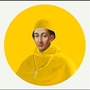 Cardinal in Yellow