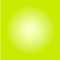 The Picturalist Facemount Acrylic: Chartreuse Halo