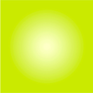 Framed Facemount Acrylic Chartreuse Halo