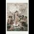 Framed Print on Rag Paper: The Birth of Venus, XIX Century Illustration