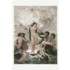 The Picturalist Framed Print on Rag Paper: The Birth of Venus, XIX Century Illustration