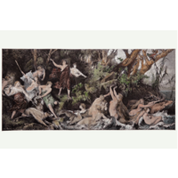 The Picturalist Framed Print on Rag Paper: Diana and Bathers