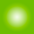 The Picturalist Framed Facemount Acrylic: Bright Green Halo