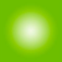 Facemount Acrylic: Bright Green Halo