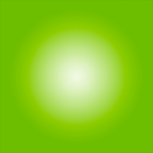 Framed Facemount Acrylic Bright Green Halo