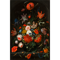 The Picturalist Framed Print on Rag Paper: Flowers in a Glass Vase