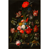 The Picturalist Framed Print on Rag Paper: Flowers in a Metal Vase by Abraham Mignon