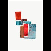 Framed Print on Rag Paper Color Study 3