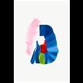 Framed Print on Rag Paper Color Study 5