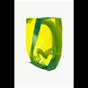 Framed Print on Rag Paper: Color Study 7