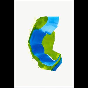 Framed Print on Rag Paper Color Study 2