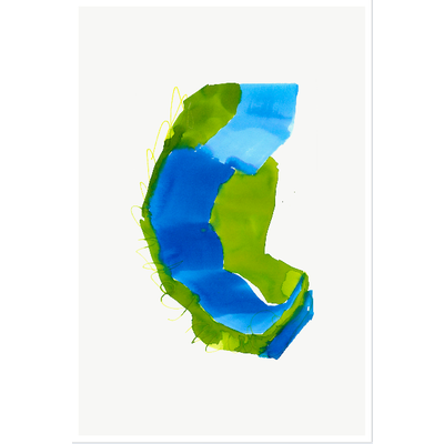 The Picturalist Framed Print on Rag Paper: Color Study 2 By Encarnacion Portal Rubio