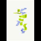 Framed Print on Rag Paper: Color Study 19 By Encarnacion Portal Rubio