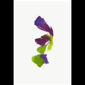 Framed Print on Rag Paper: Color Study 18 By Encarnacion Portal Rubio
