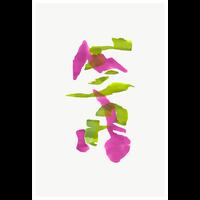 Framed Print on Rag Paper: Color Study 21