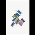Framed Print on Rag Paper Color Study 04