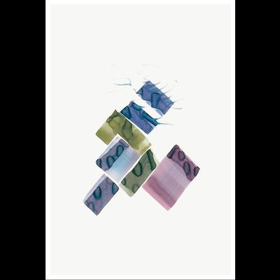 Framed Print on Rag Paper Color Study 04 By Encarnacion Portal Rubio