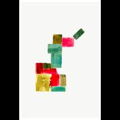 Framed Print on Rag Paper: Color Study 11 By Encarnacion Portal Rubio