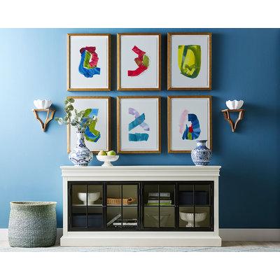 Framed Print on Rag Paper Color Study 10 By Encarnacion Portal Rubio