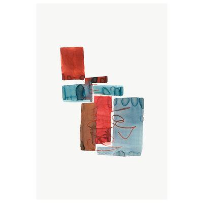 Framed Print on Rag Paper Payne by Encarnacion Portal Rubio