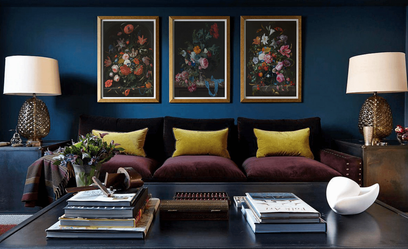 What kind of art can I use in a Maximalist interior?