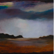 Framed Print on Rag Paper: Hamptons Landscape by Leila Pinto