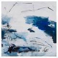 The Picturalist Framed Print on Rag Paper: Azure II