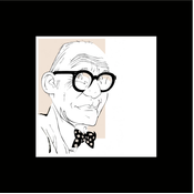 Framed Print on Rag Paper: Le Corbusier Iconic Designers by Anthony Jenkins
