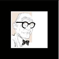Framed Print on Rag Paper: Le Corbusier