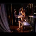 The Picturalist Framed Print on Rag Paper: Ballerinas