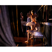Framed Print on Rag Paper: Ballerinas by Dimitri Igoshin
