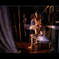 Framed Print on Rag Paper: Ballerinas