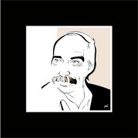 Framed Print on Rag Paper: Poul Kjaerholm