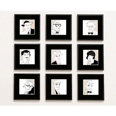 Framed Print on Rag Paper: Hannes Meyer Iconic Designers by Anthony Jenkins