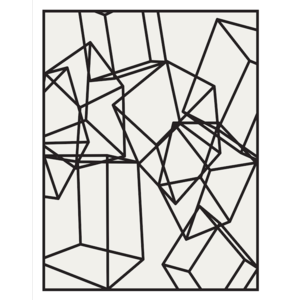 The Picturalist Facemount Acrylic: Cubes 1 Facemount Acrylic
