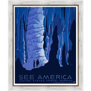 Framed Print on Rag Paper: See America