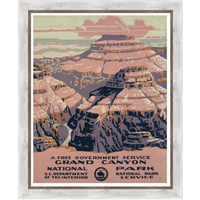 The Picturalist Framed Print on Rag Paper: Gran Canyon