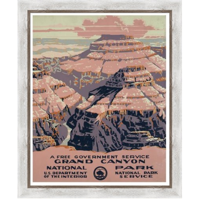 The Picturalist Framed Print on Rag Paper: Gran Canyon Poster