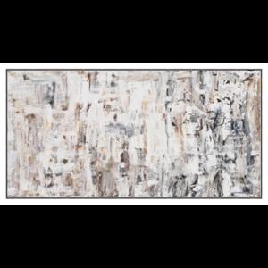 Framed Print on Canvas: Beach Sands