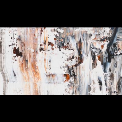 Framed Print on Canvas: Beach Sands by Leila Pinto