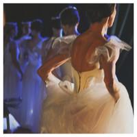 Framed Print on Rag Paper: Ballet Blanc